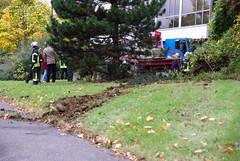 LKW-Unfall Berliner Straße 22.10.08