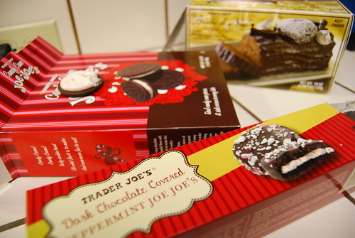Xmas goods from Trader Joe's