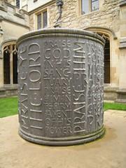 Christ Church - Brunnen von Robert Sandell 2008