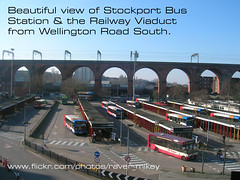 Stockport  Bus Station & Railway Viaduct