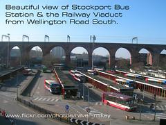 Stockport  Bus Station & Railway Viaduct