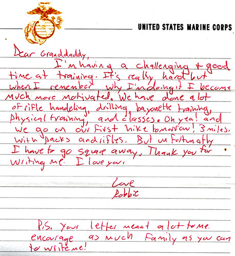 Letter From a Grandson
