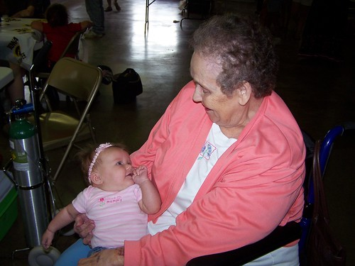 Grandma Charlotte and Jade