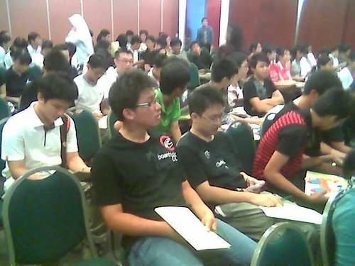Students at STP's seminar