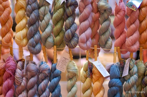 Wool gathering at the Knitting and Stitching Show (2/5)