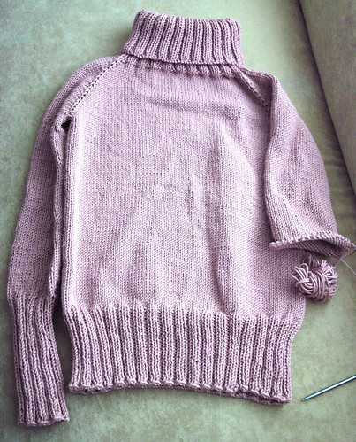 Unfinished Sweater