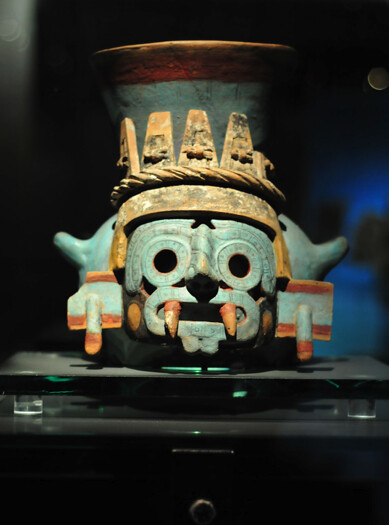 Aztec Mask, Templo Mayor