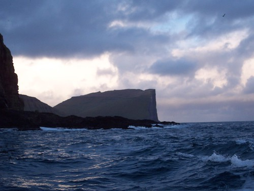Huge cliff called Eystfelli - but not even the most impressive in the Faroes