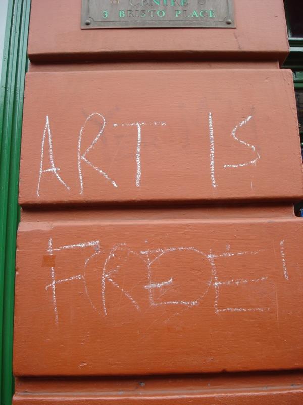 Art is free!