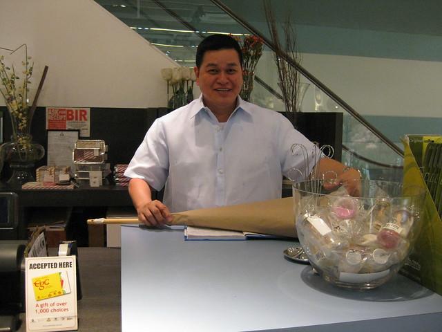 Ben Chan working
