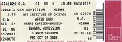 After Dark Opening Ticket