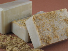Brown Sugar Pecan Soap Bar