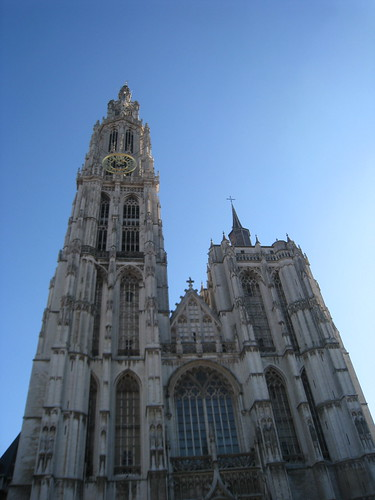 The Cathedral dominates the city