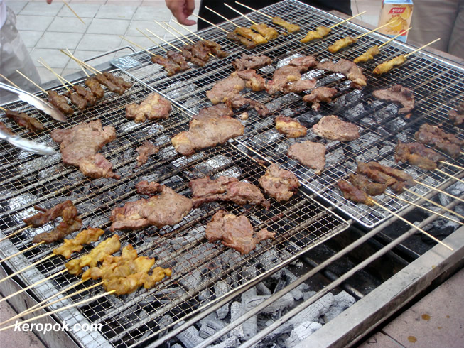 The BBQ...