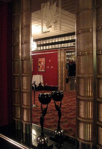 Main Theatre Art Deco Glass Block
