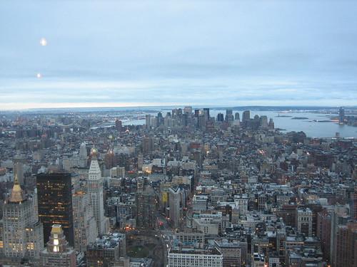 Manhattan from Empire State