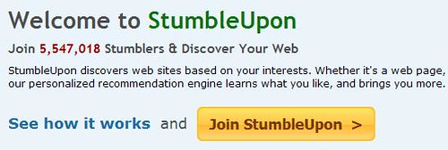 StumbleUpon - Join