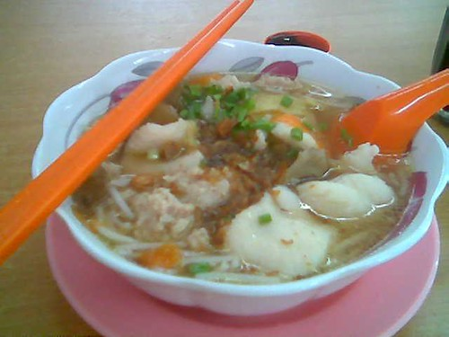 Happy Hours' clear fish soup mihun
