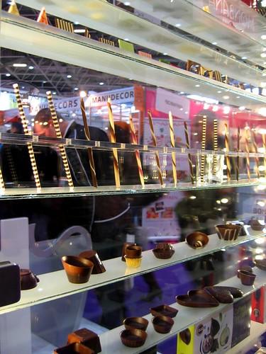 Dobla chocolate display.