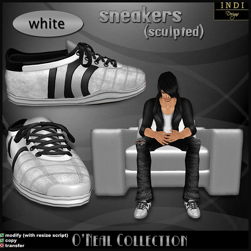 O'Neal sneakers white