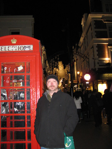 Kyle on Carnaby Street