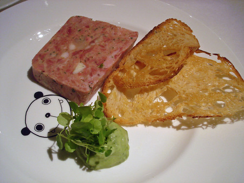 Ham Hock and Smoked Eel Terrine