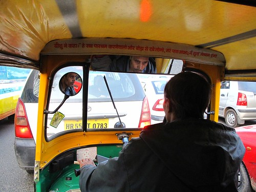 Rickshaw to heaven