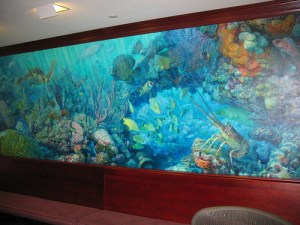 Christopher Still Paints about Florida's Great Resources Underwater