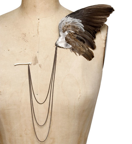 Julia Deville - Bird Wing Brooch