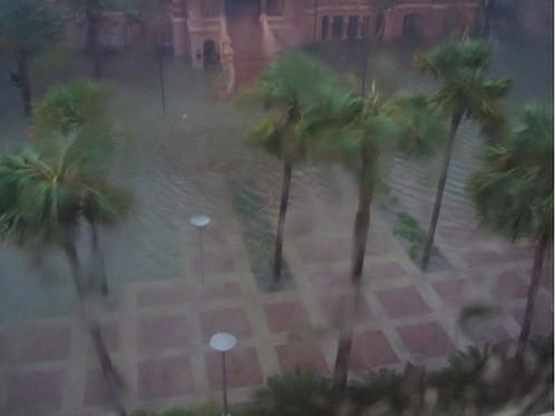 Galveston University of Texas Medical Branch during the hurricane