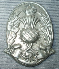 Scottish Police Cap Badge