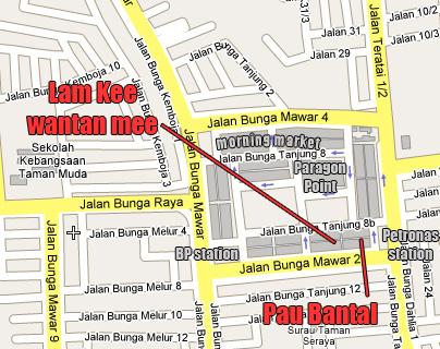 Taman Muda location