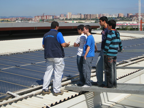 la instal·lació solar tèrmica