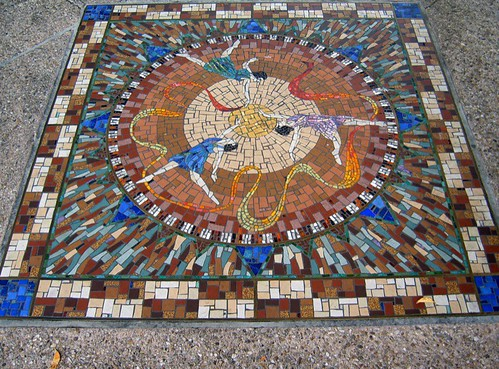 Dancing Girls Mosaic