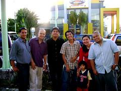 Raf,JJ,Arnaldo,Pepe,Jaycee and Levi