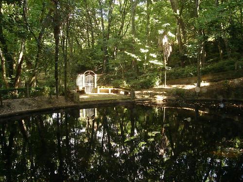Lago na Mata do Santuário de Nossa Senhora dos Remédios em Lamego
