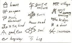 Naxi Writing System 7