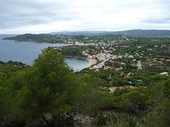 Looking down on Llafranc