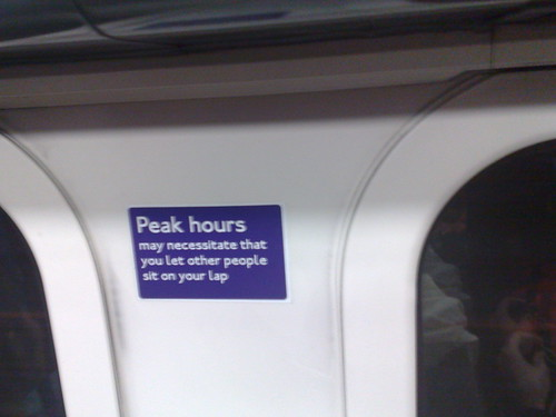 Peak Hours may mean lap sitting by Whatleydude