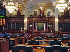 Springfield - House Chamber, Illinois State Ca...