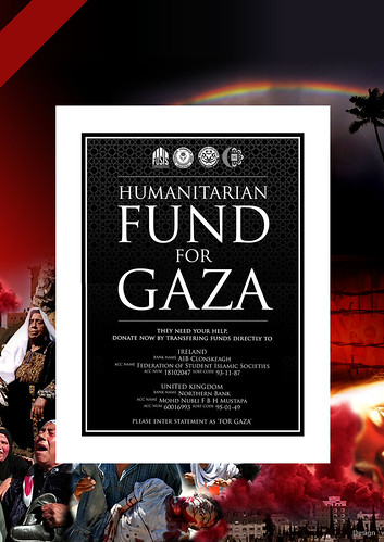Humanitarian fund for gaza by you.