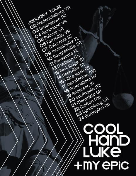 coohand luke on tour
