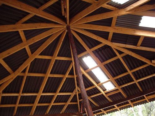 CEILING OF PAVILION