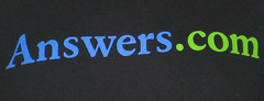 Answers.com t shirt front