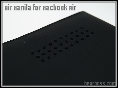 Air Manila for Macbook Air by Civilian Lab