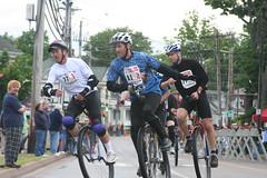 riders in the Criterium race