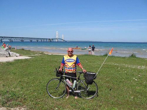 Dad At The Bridge