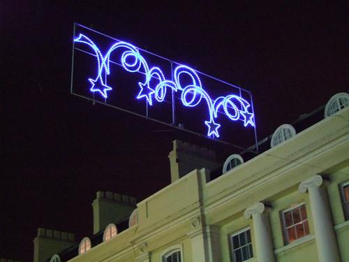 Greenwich Christmas lights