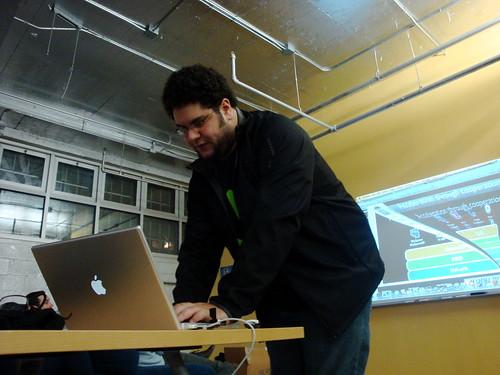 David Recordon at the Open Stack Meetup