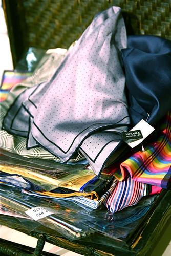 Silk Handkerchiefs Cravates Pocket Squares IMG...